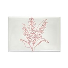 Lily Of Valley Magnets