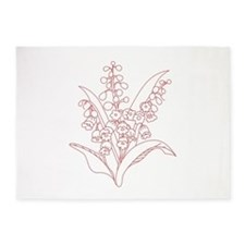 Lily Of Valley 5'x7'Area Rug