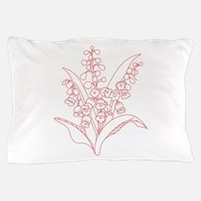 Lily Of Valley Pillow Case