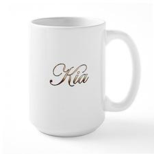 Gold Kia Mugs