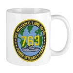 USS WILLIAM C. LAWE Mug