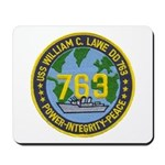 USS WILLIAM C. LAWE Mousepad
