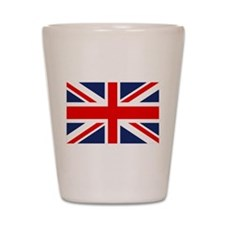 Cute United kingdom scotland, ireland, wales Shot Glass