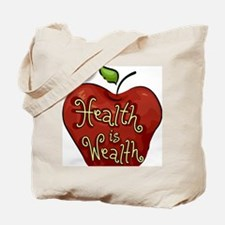 Icon Illustration Representing Health is  Tote Bag