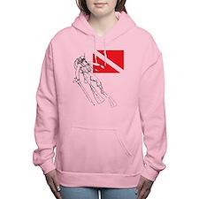 Diver Down Women's Hooded Sweatshirt