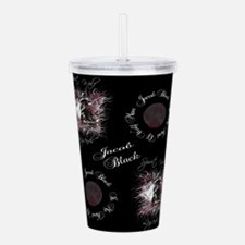 Jacob Black shower.png Acrylic Double-wall Tumbler