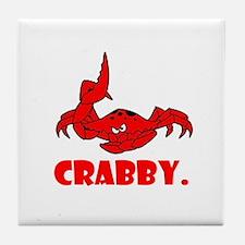 Crabby Tile Coaster
