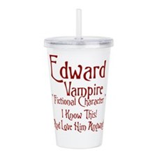 Edward Vampire.png Acrylic Double-wall Tumbler