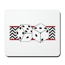 Dice Border Mousepad