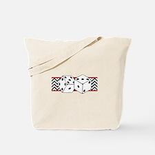 Dice Border Tote Bag