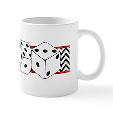 Dice Border Mugs