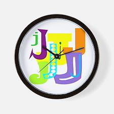 Initial Design (J) Wall Clock