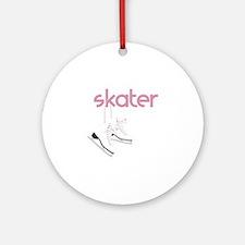 Skaters Skates Ornament (Round)