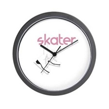 Skaters Skates Wall Clock