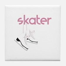 Skaters Skates Tile Coaster