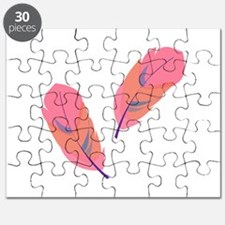 Pink Feathers Puzzle