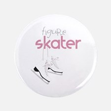 "Figure Skater 3.5"" Button"