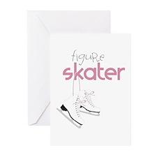 Figure Skater Greeting Cards