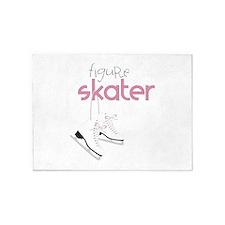 Figure Skater 5'x7'Area Rug