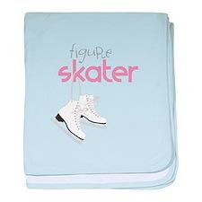 Figure Skater baby blanket
