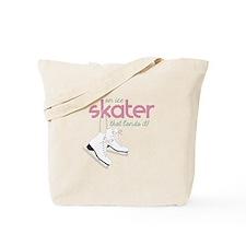 Skater Lands It Tote Bag