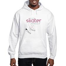 Skater Lands It Hoodie
