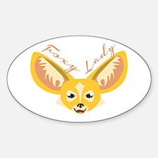 Foxy Lady Decal