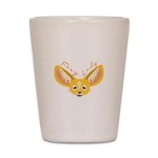 Foxy Lady Shot Glass