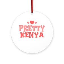 Kenya Ornament (Round)
