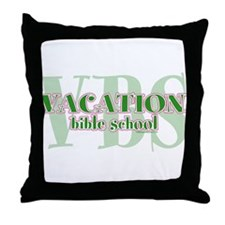 Cute Sunday school Throw Pillow