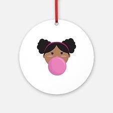 Bubble Gum Ornament (Round)