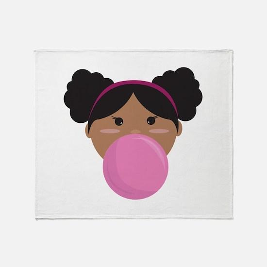 Bubble Gum Throw Blanket