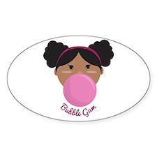 Bubble Gum Princess Decal