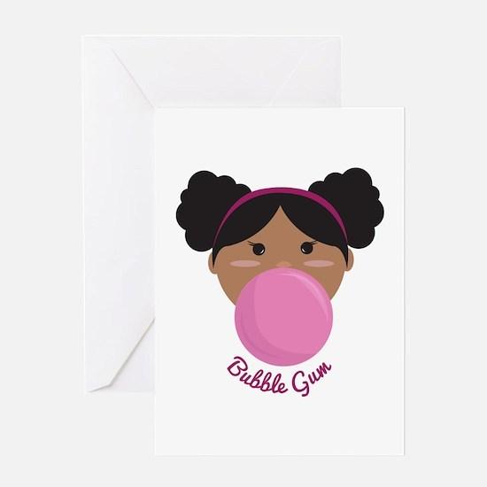 Bubble Gum Princess Greeting Cards