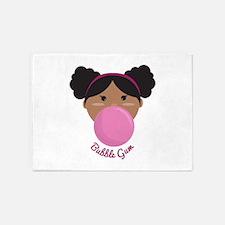 Bubble Gum Princess 5'x7'Area Rug