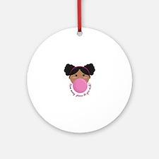 Bubble Gum Wish Ornament (Round)