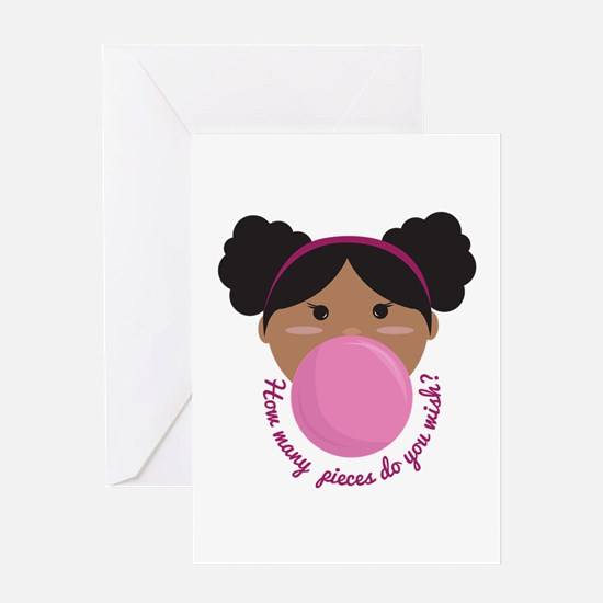Bubble Gum Wish Greeting Cards