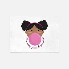 Bubble Gum Wish 5'x7'Area Rug