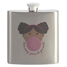 Bubble Gum Wish Flask