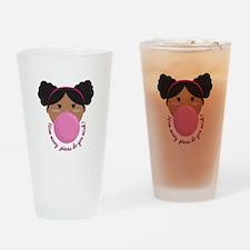 Bubble Gum Wish Drinking Glass