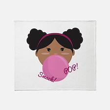 Smack Pop Throw Blanket