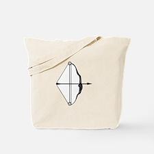 Bow & Arrow Tote Bag