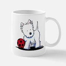 Westie & Ball Small Small Mug