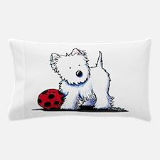 Westie & Ball Pillow Case