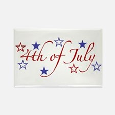 4th of July Rectangle Magnet