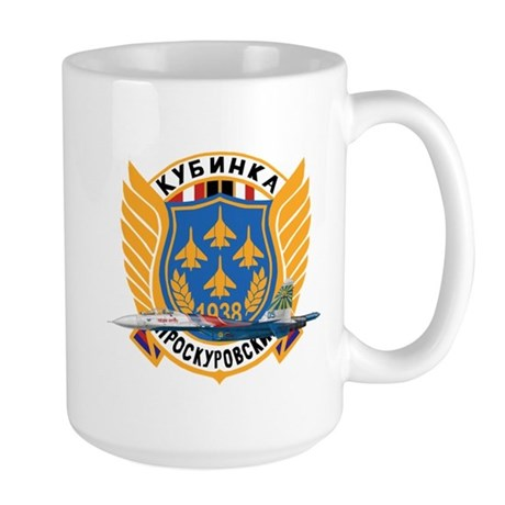Su-27 Russian Knights Large Mug