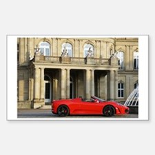 A red sports car from Maranell Decal