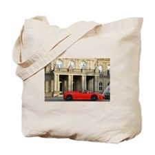 A red sports car from Maranello, Italy Tote Bag