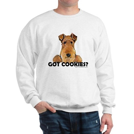 Welsh Terrier Cookies Sweatshirt
