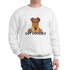 Welsh Terrier Cookies Sweatshirt